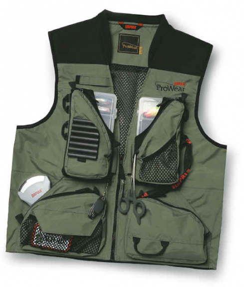 Жилет Rapala ProWear Shallows Vest зеленый